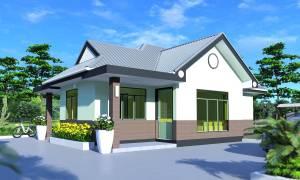 House Plan ID-7790, 3 bedrooms, 1480+798 bricks and 65 corrugates