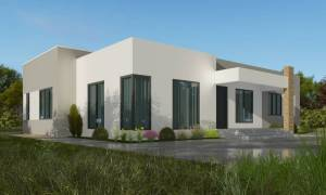 House Plan ID-15038, 3 bedrooms, 3600+1800 bricks and 100 corrugates
