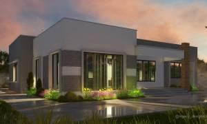 House Plan ID-15091, 3 bedrooms, 3900+1900 bricks and 100 corrugates