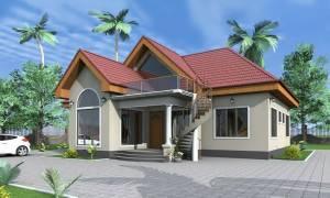 House Plan ID-15055, 3 bedrooms, 3007+1495 bricks and 142 corrugates