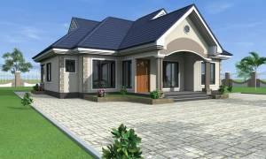 House Plan ID-15044, 3 bedrooms, 2918+1451 bricks and 132 corrugates