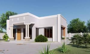 House Plan ID-15071, 3 bedrooms, 2667+1326 bricks and 77 corrugates