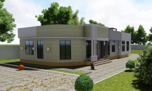 House Plan ID-15786, 3 bedrooms, 2810+1397 bricks and 86 corrugates