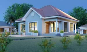 House Plan ID-15481, 3 bedrooms, 2130+1059 bricks and 97 corrugates