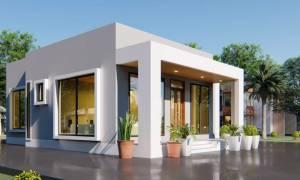 House Plan ID-16551, 3 bedrooms, 2875+1263 bricks and 51 corrugates