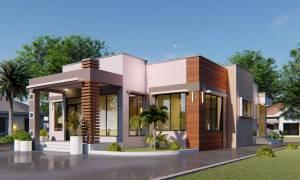 House Plan ID-16619, 4 bedrooms, 4450+1650 bricks and 76 corrugates