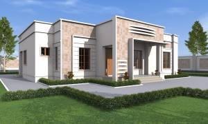 House Plan ID-17151, 4 bedrooms, 4584+1700 bricks and 78 corrugates