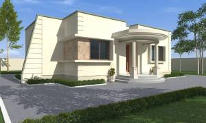 House Plan ID-16975, 2 bedrooms, 2713+1006 bricks and 46 corrugates