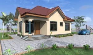 House Plan ID-17004, 3 bedrooms, 1705+846 bricks and 65 corrugates
