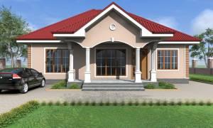 House Plan ID-17018, 4 bedrooms, 3652+1816 bricks and 140 corrugates