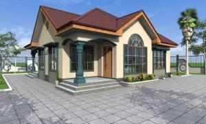 House Plan ID-17069, 4 bedrooms, 3025+1504 bricks and 116 corrugates