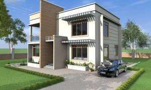 House Plan ID-17621, 3 bedrooms, 6646+1416 bricks and 46 corrugates