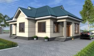 House Plan ID-16961, 3 bedrooms, 2431+1209 bricks and 93 corrugates
