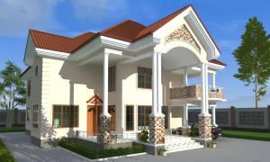 House Plan ID-17562, 4 bedrooms, 10625+2715 bricks and 149 corrugates