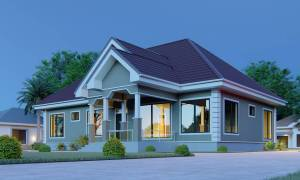 House Plan ID-16808, 3 bedrooms, 3580+1780 bricks and 138 corrugates