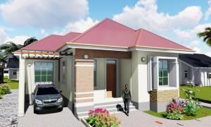 House Plan ID-16678, 3 bedrooms, 3200+1100 bricks and 135 corrugates