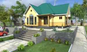 House Plan ID-17077, 4 bedrooms, 2954+1469 bricks and 114 corrugates