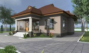 House Plan ID-17766, 3 bedrooms, 2864+1424 bricks and 110 corrugates
