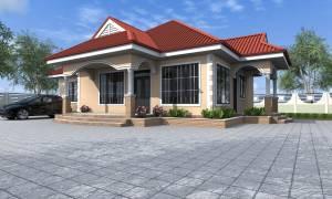 House Plan ID-17725, 3 bedrooms, 2596+1291 bricks and 100 corrugates