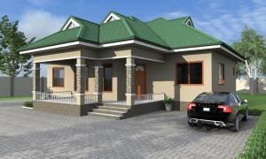 House Plan ID-17688, 4 bedrooms, 3401+1691 bricks and 131 corrugates