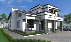 House Plan ID-17679, 3 bedrooms, 6086+2630 bricks and 88 corrugates