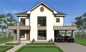 House Plan ID-17654, 3 bedrooms, 7257+2005 bricks and 94 corrugates