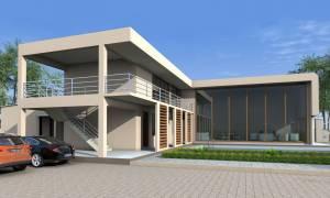 House Plan ID-18210, 4 bedrooms, 15400+3763 bricks and  corrugates