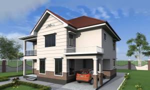 House Plan ID-18193, 5 bedrooms, 7545+2143 bricks and 99 corrugates