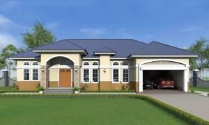 House Plan ID-18157, 4 bedrooms, 4818+2359 bricks and 182 corrugates