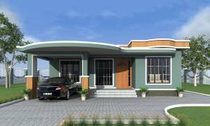 House Plan ID-18128, 2 bedrooms, 2520+935 bricks and 43 corrugates