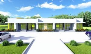 House Plan ID-19281, 2 bedrooms, 6446+2390 bricks and 110 corrugates