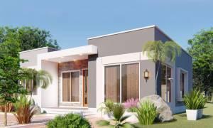 House Plan ID-19172, 3 bedrooms, 2827+1048 bricks and 48 corrugates