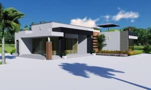 House Plan ID-19208, 4 bedrooms, 7375+2735 bricks and 126 corrugates