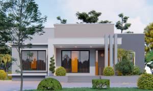 House Plan ID-19790, 4 bedrooms, 5760+2136 bricks and 99 corrugates