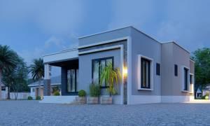 House Plan ID-19391, 3 bedrooms, 4272+1584 bricks and 73 corrugates
