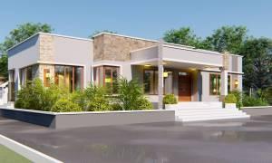 House Plan ID-19356, 3 bedrooms, 5400+2003 bricks and 92 corrugates