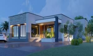 House Plan ID-21014, 4 bedrooms, 6096+2261 bricks and 104 corrugates