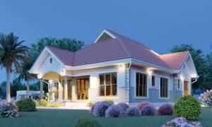 House Plan ID-21771, 4 bedrooms, 3670+1825 bricks and 141 corrugates
