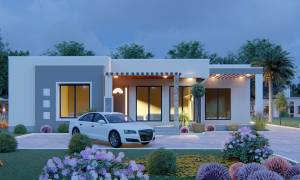 House Plan ID-21747, 4 bedrooms, 5952+2207 bricks and 102 corrugates