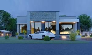 House Plan ID-21615, 4 bedrooms, 5976+2216 bricks and 102 corrugates