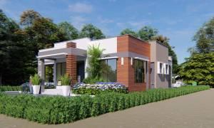 House Plan ID-21973, 3 bedrooms, 3534+1310 bricks and 61 corrugates