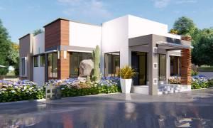 House Plan ID-22138, 4 bedrooms, 5129+1902 bricks and 88 corrugates