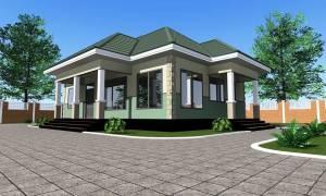 House Plan ID-15442, 3 bedrooms, 2739+1362 bricks and 117 corrugates