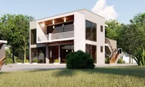 House Plan ID-15391, 4 bedrooms, 7700+1345 bricks and 93 corrugates