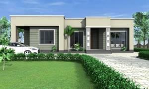 House Plan ID-15458, 3 bedrooms, 5068+2035 bricks and 115 corrugates