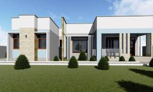 House Plan ID-15793, 4 bedrooms, 3741+1860 bricks and 108 corrugates