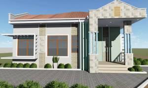 House Plan ID-15812, 2 bedrooms, 1575+783 bricks and 65 corrugates