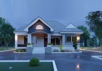 House Plan ID-22334, 3 bedrooms, 3181+1582 bricks and 122 corrugates