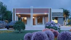 House Plan ID-21735, 3 bedrooms, 5496+2038 bricks and 94 corrugates