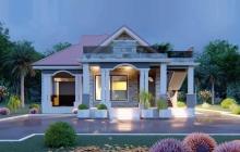 House Plan ID-22570, 4 bedrooms, 3804+1891 bricks and 146 corrugates